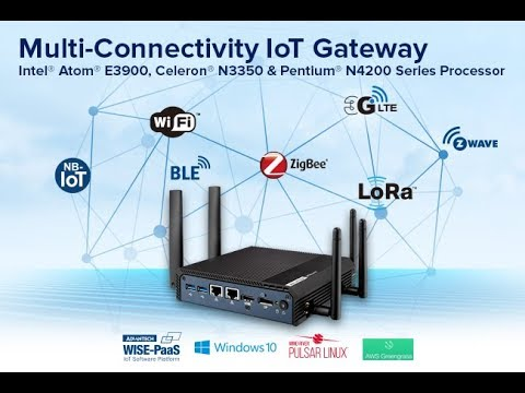 Advantech UTX-3117 Multi-Connectivity IoT Gateway