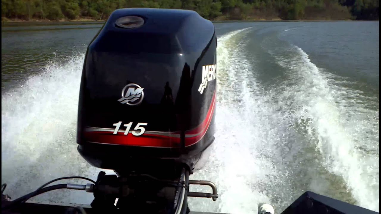 90 Hp Mercury Outboard >> 2004 Bass Tracker Pro Team 185 with Mercury 115 Optimax ...