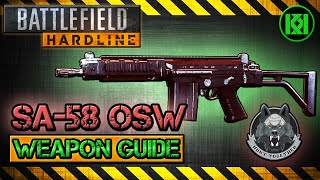 sa 58 osw review gameplay best gun setup   battlefield hardline weapon guide sa58 bfh