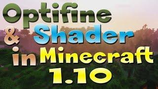 Optifine & Shader in Minecraft 1.10 Tutorial in Mods installieren leicht gemacht #7