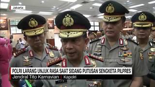 Gambar cover Polri Larang Demo Saat Sidang Putusan Sengketa Pilpres