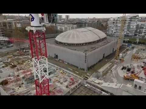 cantiere CityLife visto dal drone - Colombo Costruzioni