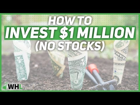 How To Invest $1 Million Dollars (NO Stock Market)