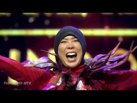 Terbongkar!Kalah Lawan Be'Rubah, Miss Lava Ngambek!! | The Mask Singer S3 Eps.3 (6/6) GTV 2018
