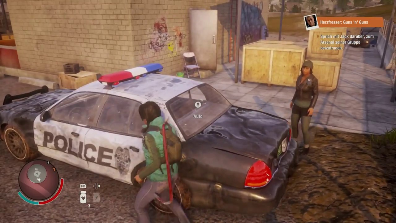 STATE OF DECAY 2 #23 - Uhhh ... POLICE CAR !!!!! on destiny map size, red dead redemption map size, tomb raider map size, grand theft auto iv map size, sunset overdrive map size, forza horizon 2 map size, star citizen map size, just cause 3 map size, x rebirth map size, unturned map size, minecraft map size, the witcher map size, wasteland 2 map size, rage map size, deadlight map size, h1z1 map size, game of thrones map size, 7 days to die map size, open world map size, the forest map size,