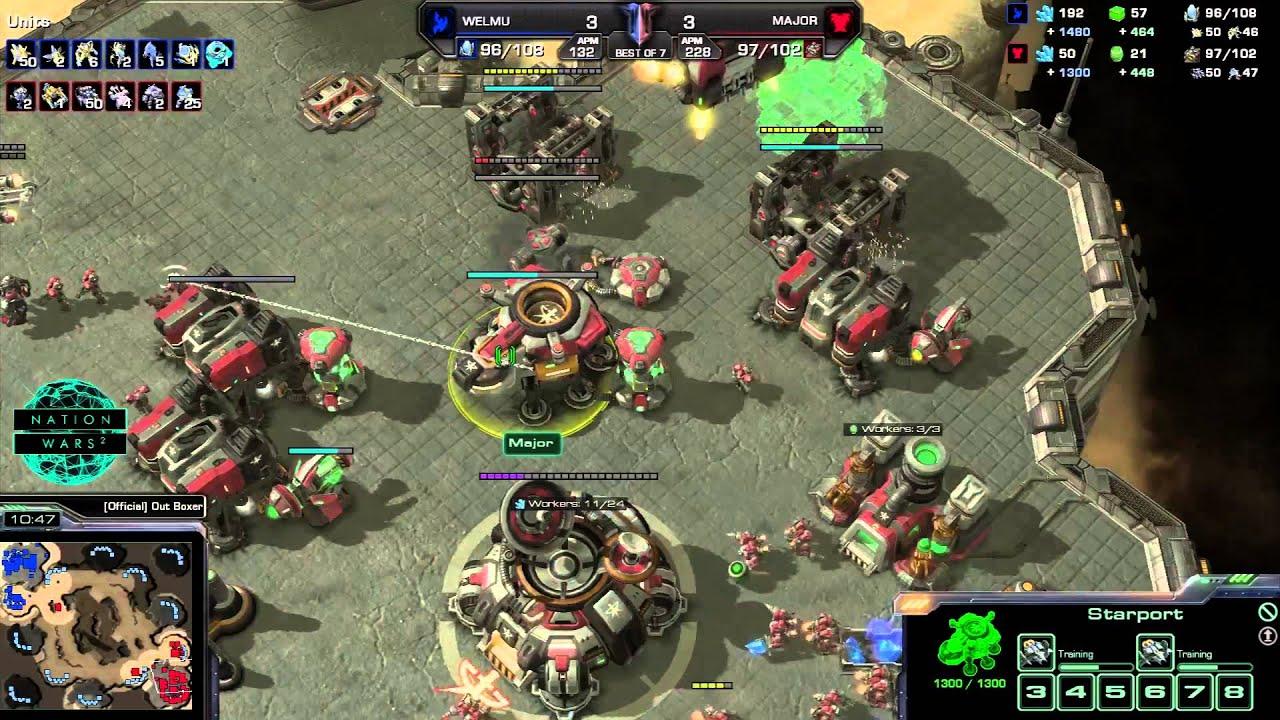 Mexico vs. Finland - Game 7 - StarCraft 2