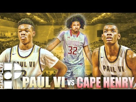 Anthony Harris and Paul VI Defeats Cape Henry in Double OT of VISAA D1 Final 4!