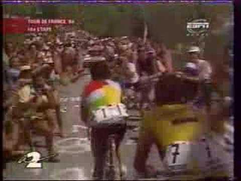 Tour de France 1986 : Hinault et LeMond à l'Alpe d'Huez