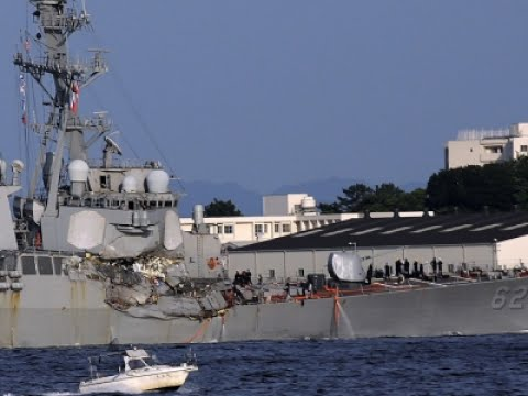 Bodies of Missing US Navy Sailors Found on Ship