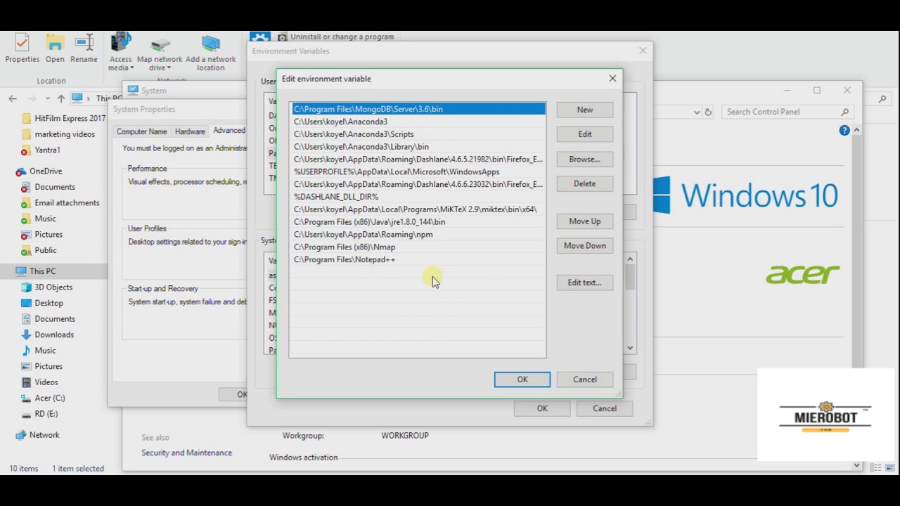 Git Bash and NotePad++ installation steps with Path variable setup