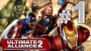Marvel Ultimate Alliance 2 - Prólogo - Latveria (1)- En Difícil y comentado en español - Parte 1