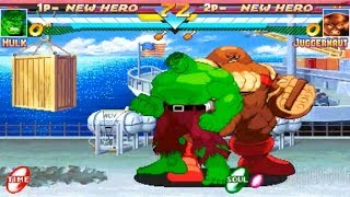 [TAS] Hulk VS Juggernaut (Marvel Super Heroes)
