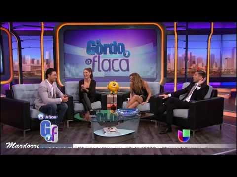 """Fernando Colunga y Blanca Soto en divertida entrevista en El Gordo y La Flaca con """"Obscuro Total"""""""