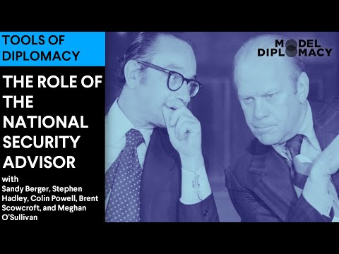 The Role of the National Security Advisor