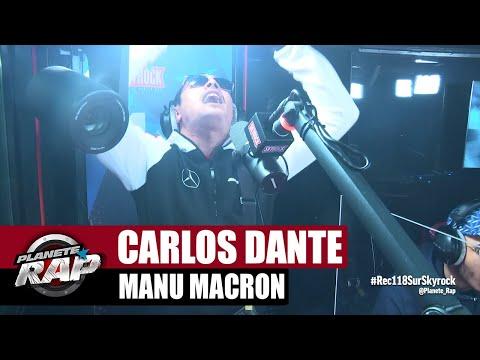 Youtube: Carlos Dante«Manu Macron» #PlanèteRap