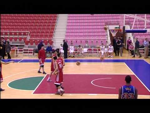 Scrimmage Between Harlem Globetrotters and North Korean Basketball Team