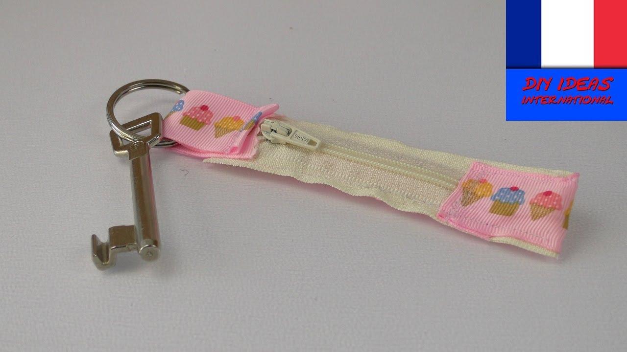 Assez Porte clé DIY avec compartiment secret à coudre | Idée de porte  AF61