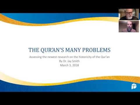 New Historical problems with the Qur'an - new Webinar