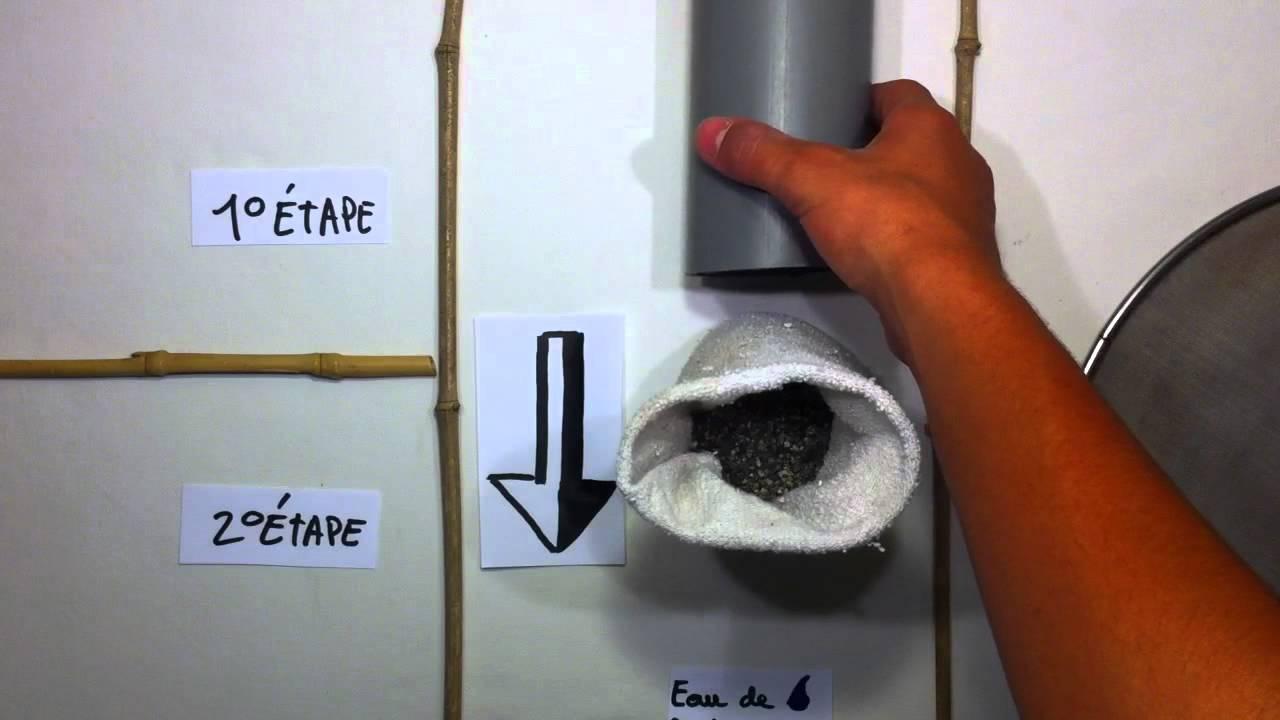 Filtrer l 39 eau de pluie recyclage et r utilisation youtube - Fabriquer une horloge a eau ...