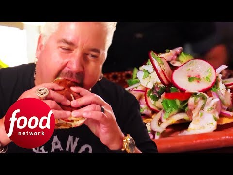Guy Fieri Tries Some Insanely Delicious Mexican Seafood   Diners, Drive-Ins And Dives
