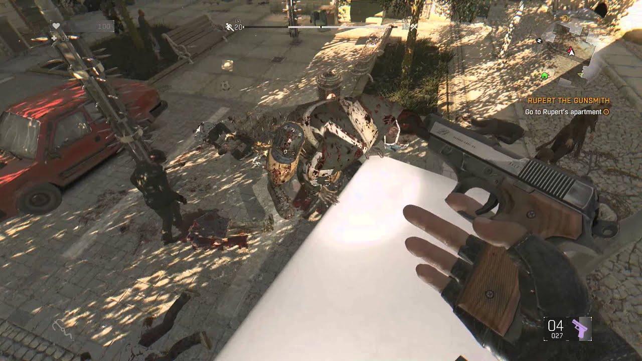 Dying light 9mm pistol