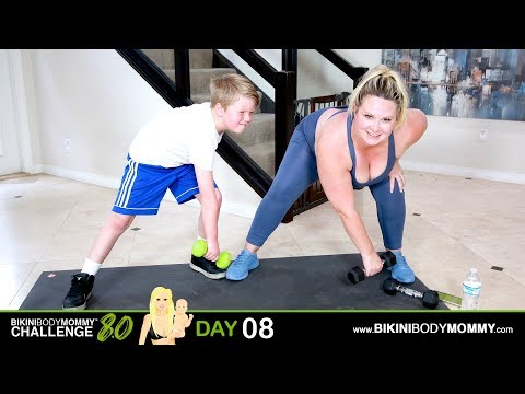 Bikini Body Mommy Challenge 8.0: Day 08