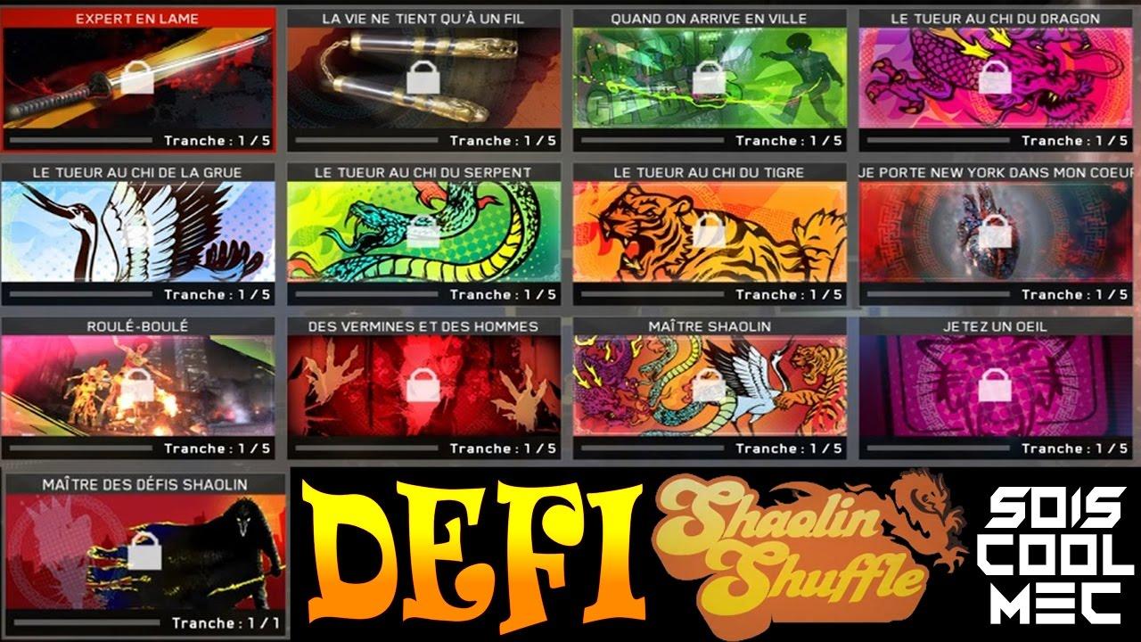 Presentation Defi Shaolin Shuffle Carte De Visite Dlc 2 Continuum CoD IW Zombie