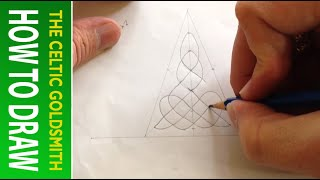 How To Draw Celtic Patterns 53 - Aberlemno Triskele 3 Of 6