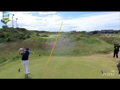 See Highlights of Golfer Branden Grace's 62 at 2017 British Open Royal Birkdale