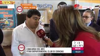 Buen día Uruguay - Feria Departamental Club de Ciencias 27 de Agosto de 2015
