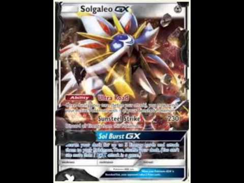 Les nouvelle carte pok mon les gx youtube - Carte pokemon ex et gx ...