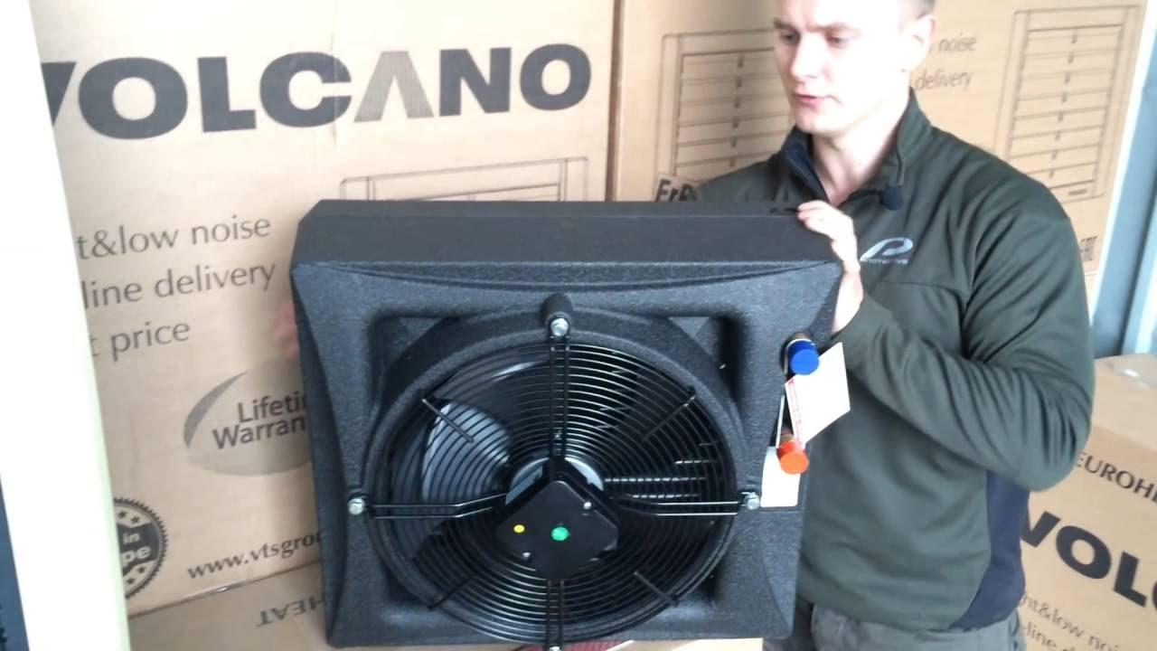 Водяные Тепловентиляторы Volcano VR1 VR2 VR3 и Volcano Mini - YouTube