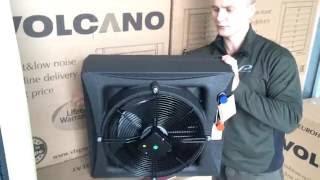 видео Тепловентиляторы Volcano - Купить воздушно-отопительные агрегаты VOLCANO (Вулкан) в Екатеринбурге по низким ценам