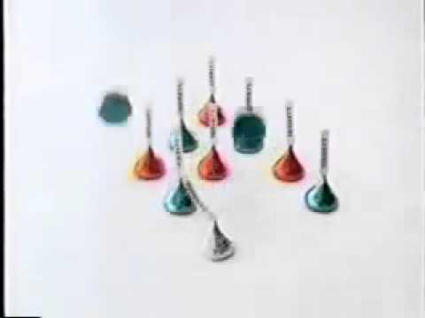 Hershey's Kisses Christmas Commercial (1989) - YouTube