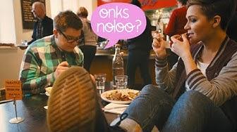 Onks noloo jos ei osaa käyttäytyä ravintolassa?
