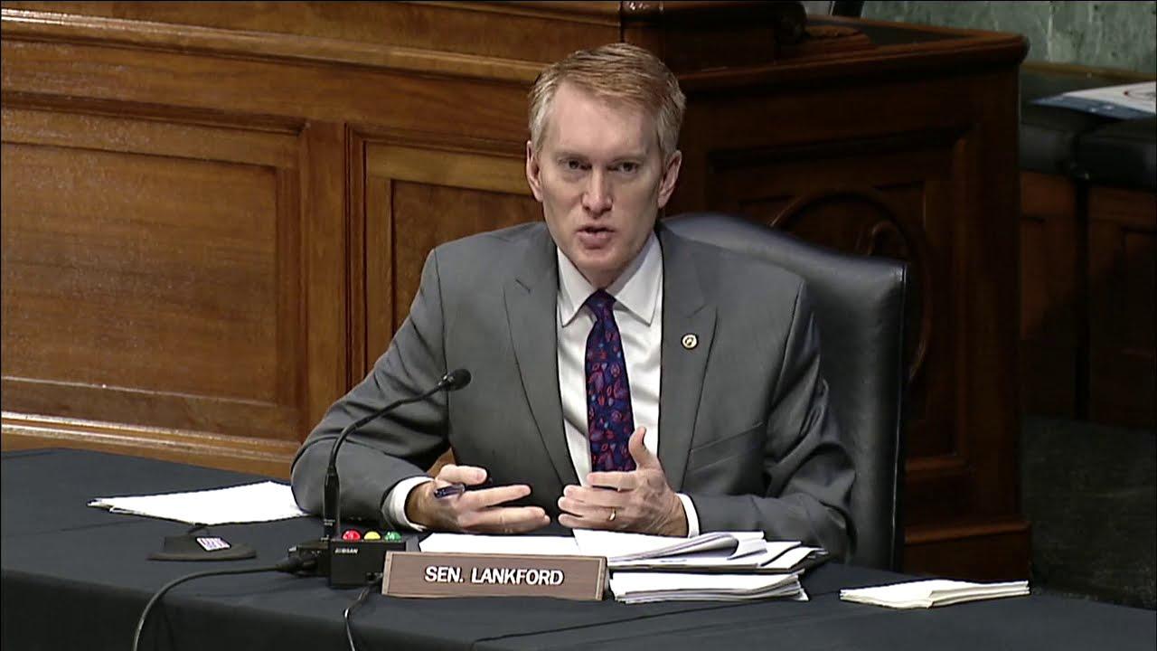 U.S. Senator James Lankford of Oklahoma