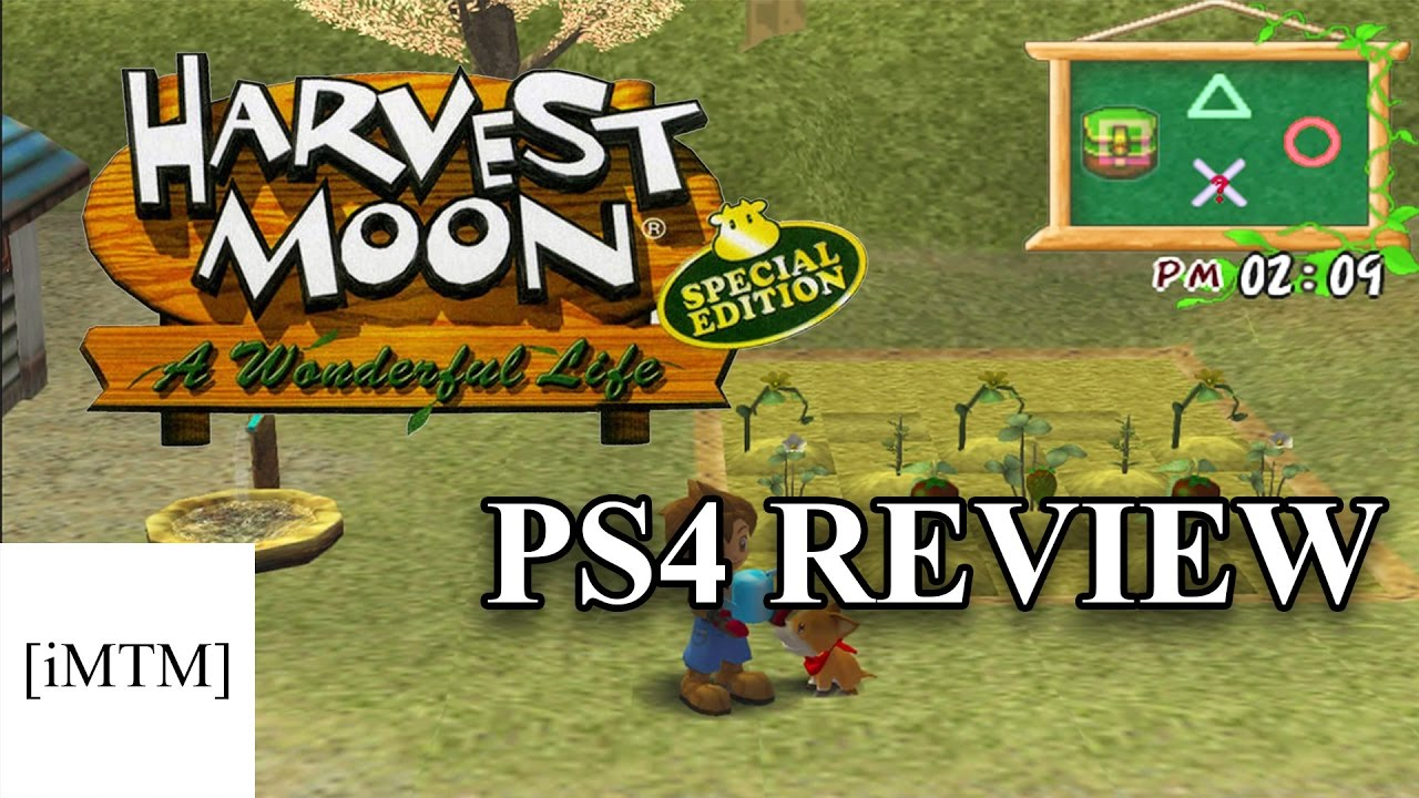 a review of the game harvest moon a wonderful life Harvest moon: save the homeland and harvest moon: a wonderful  we've  learned (via gearnuke) that the entertainment software rating board has rated  both harvest moon:  you out of marriage entirely, focusing entirely on the  game's story the special edition release of a wonderful life added more.