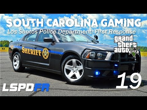 GTA 5 - LSPDFR - Episode 19 - Chesterfield County Sheriff's Department