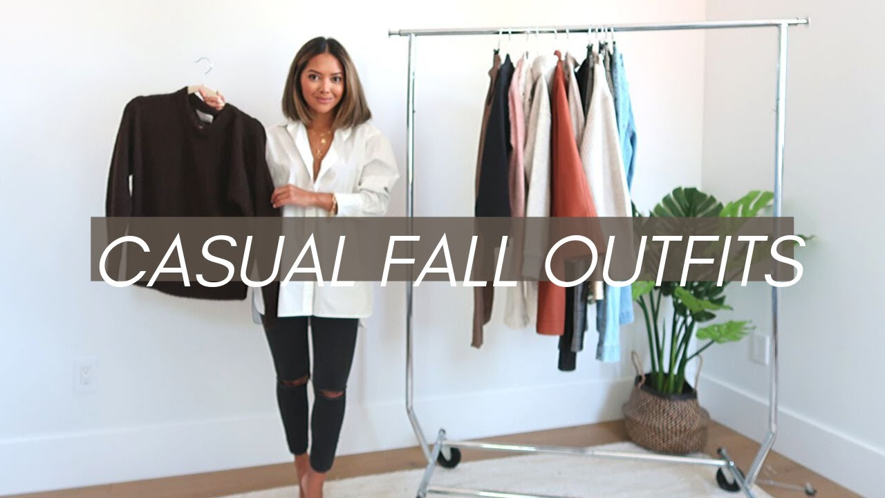 [VIDEO] - Casual Fall Outfits To Try 2019 | Lookbook 2