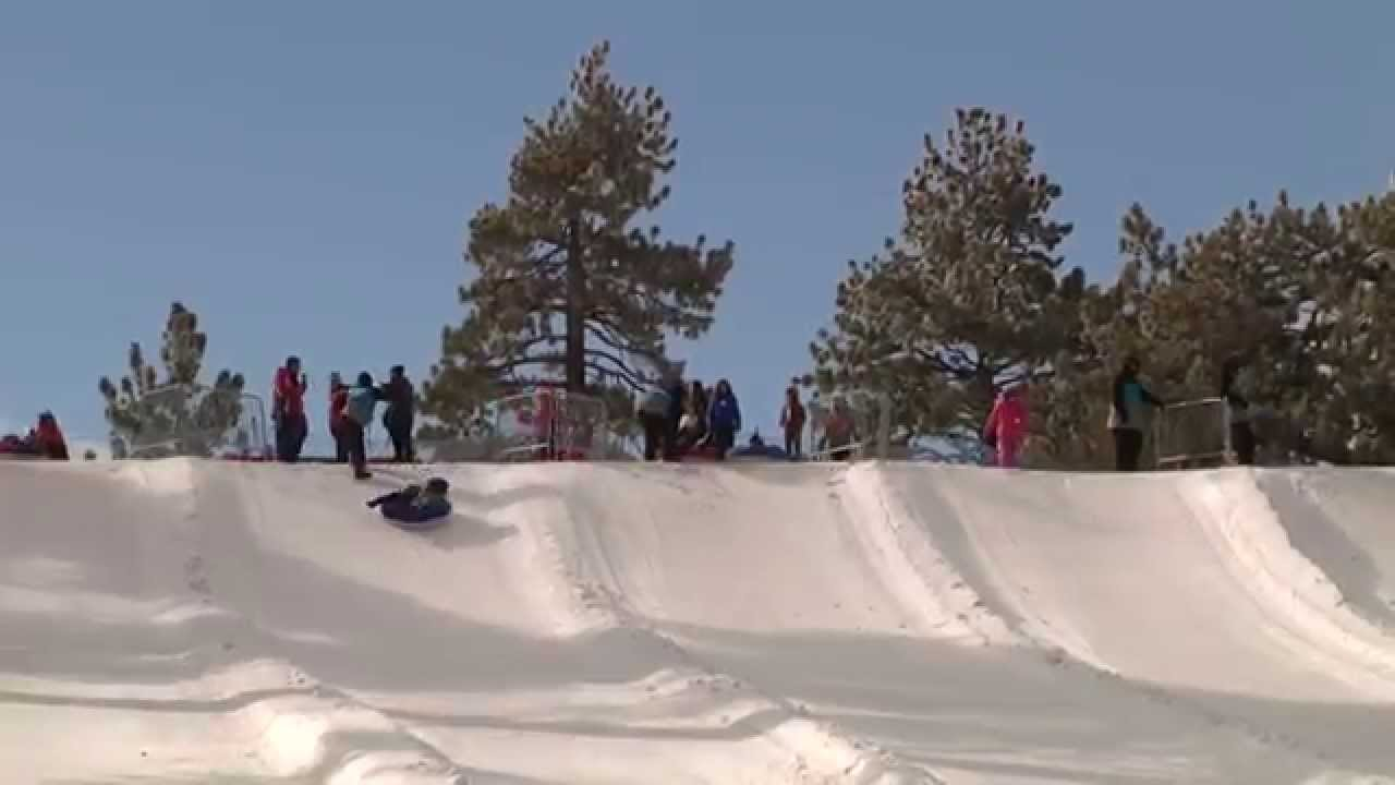 mountain high resort video tubing - youtube