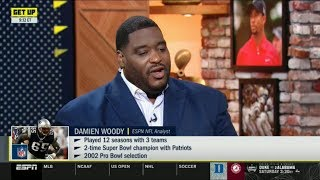 ESPN GET UP | Damien Woody PREDICT to Lions at Cardinals: Expectations for Kyler Murray offense?