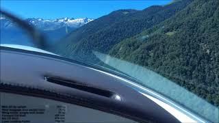 Sportscruiser Landing at Luchon