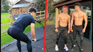 I Trained With A FITNESS MODEL For 24 HOURS!