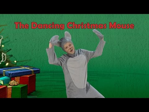 Milton The Mouse | Milton The Dancing Christmas Mouse | Kids Christmas Song | Jack Hartmann
