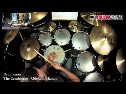 The Cranberries - Ode to my family - DRUM COVER