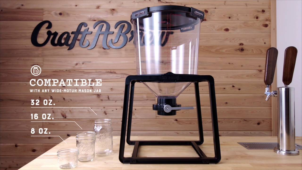 Craft a brew the catalyst fermentation system youtube for Craft a brew catalyst