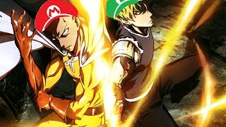 One Punch Man Dubstep AMV Pegboard Nerds Luigi S Mansion
