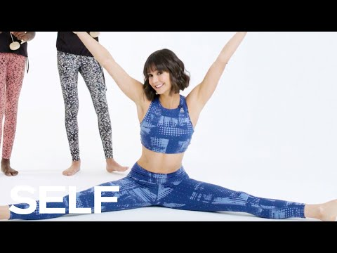 Nina Dobrev Shows Off Her Flexibility | SELF