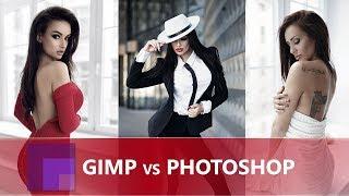 Gimp vs Photoshop - Photo Editing Software - COMPARISON 2018