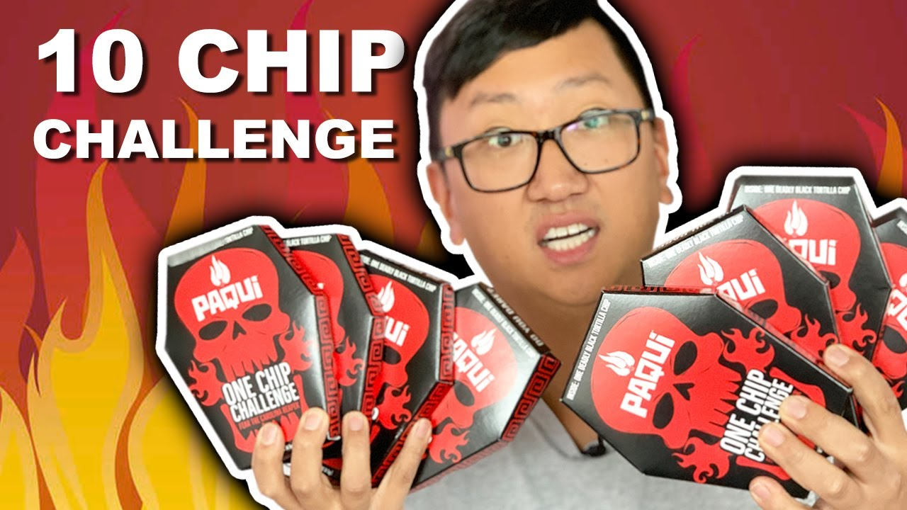 Paqui's NEW & HOTTER One Chip Challenge 🔥🥵💀 Black Carolina Reaper Chip 🌶 GONE WRONG
